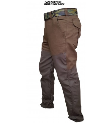 BROWN CANVAS CURLEW PANT