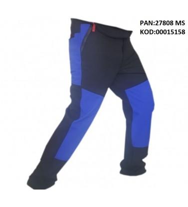 BLACK BLUE SOFT GEL PANT